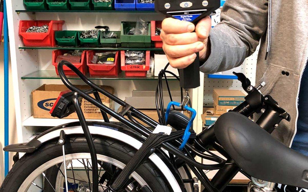 Ecco quanto pesano le nostre bici pieghevoli