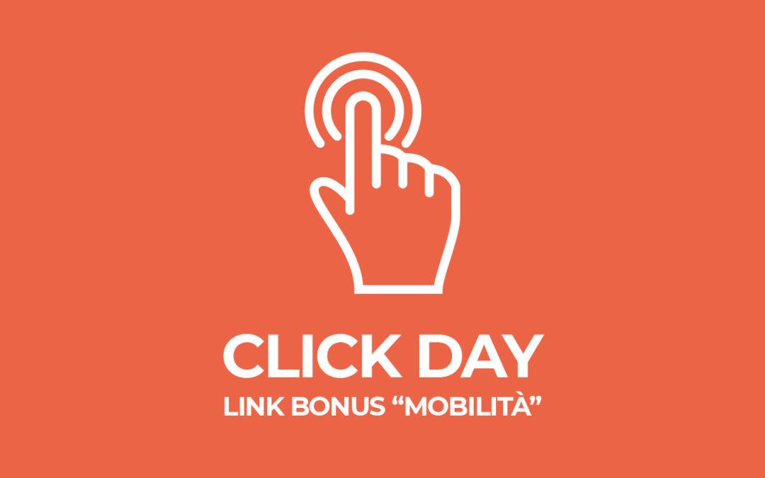 Click Day Bonus Bici, ecco il link